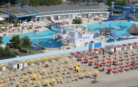Spiaggia - Hotel Europa Grado